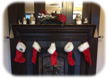 Friesen Fireplace Mantels Christmas Stocking Hanger